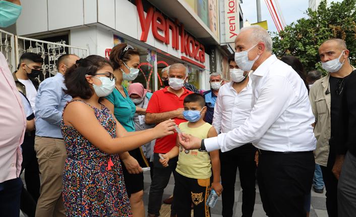 Gültak, Kuvai Milliye Caddesi Esnafını Ziyaret Etti