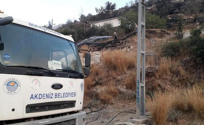 Akdeniz Belediyesi'nden Araröz Desteği