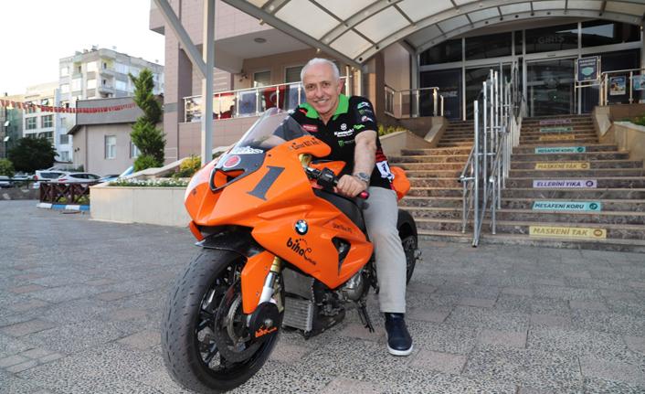 Akdeniz'de Moto Drag Heyecanı