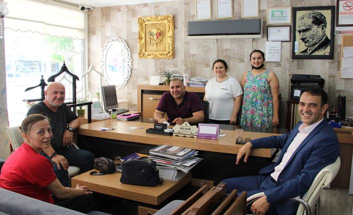 Altunok'tan Esnaflara Hayırlı Olsun Ziyareti