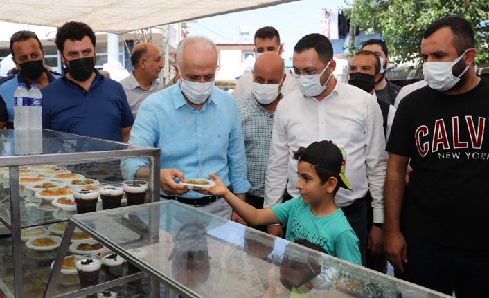 Başkan Gültak Vatandaşlarla