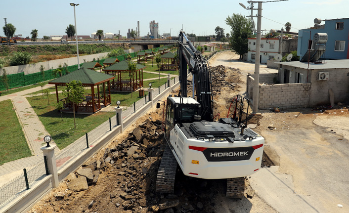Akdeniz'de Park ve Yeşil Alan Artıyor