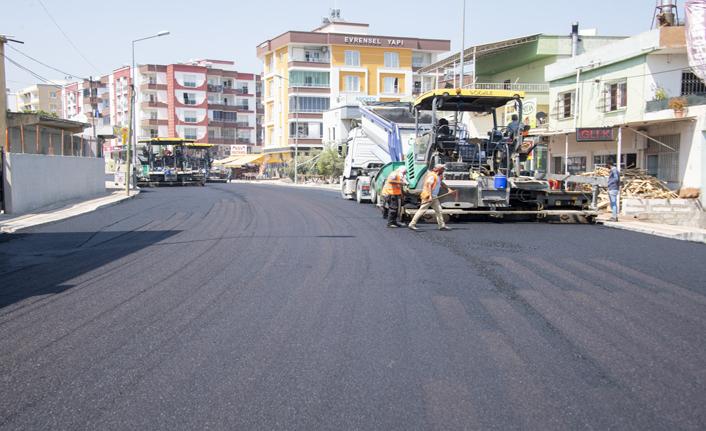 Çiftçiler Caddesinde Yol Düzenleme Çalışmaları Devam Ediyor