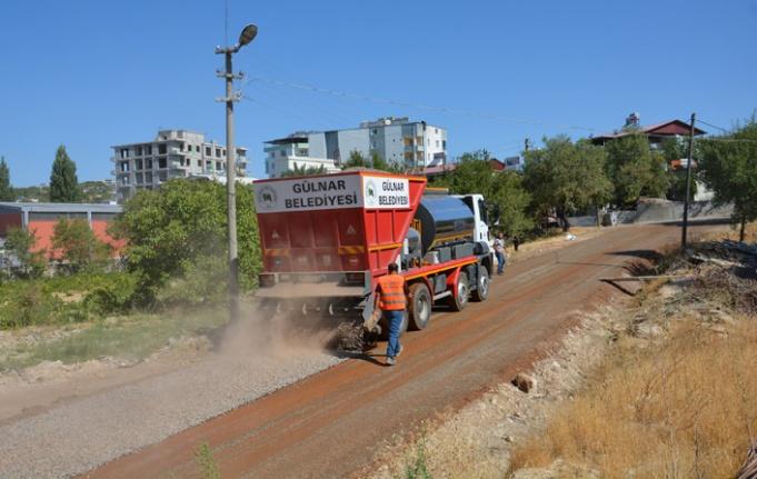 Gülnar Belediyesi Asfalt Çalışmalarına Hızla Devam Ediyor