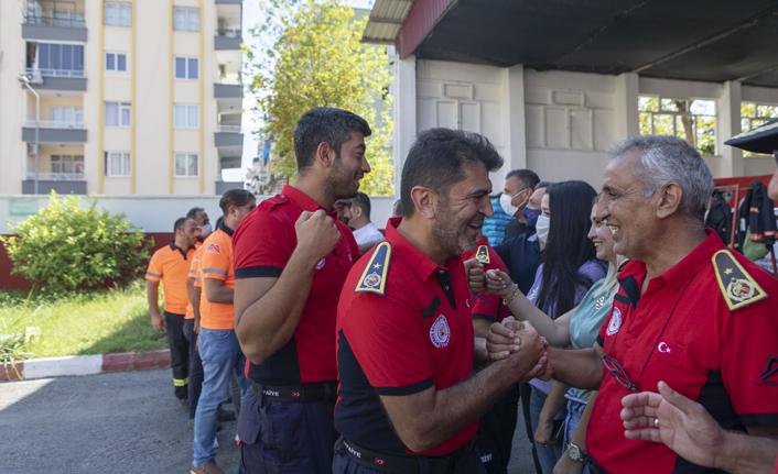 Kahramanlar Mersin'e Döndü