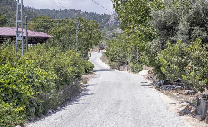 Mersin'in Kırsalında Yollar Üretime Açık