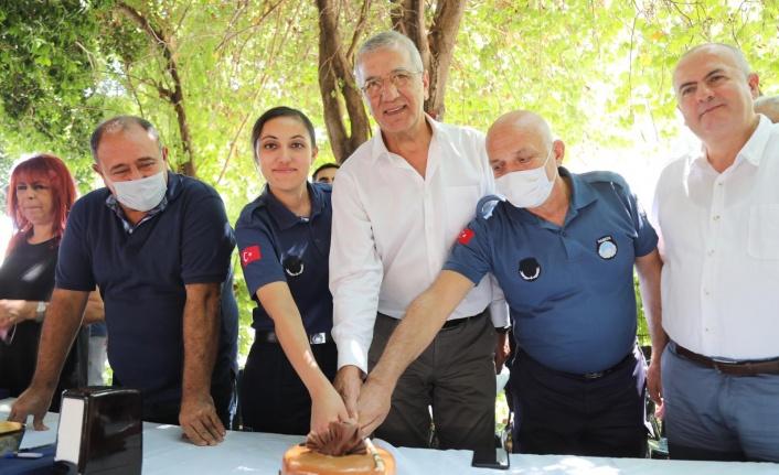 Başkan Tarhan Zabıta Ekibiyle Yemekte Buluştu