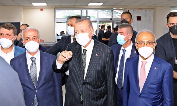 Cumhurbaşkanı Erdoğan Akdeniz'de
