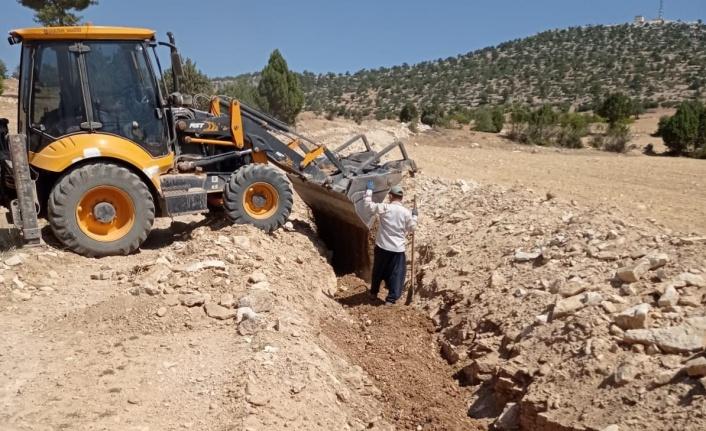 Mersin Dereyurt Barajında Çalışmalar Sürüyor