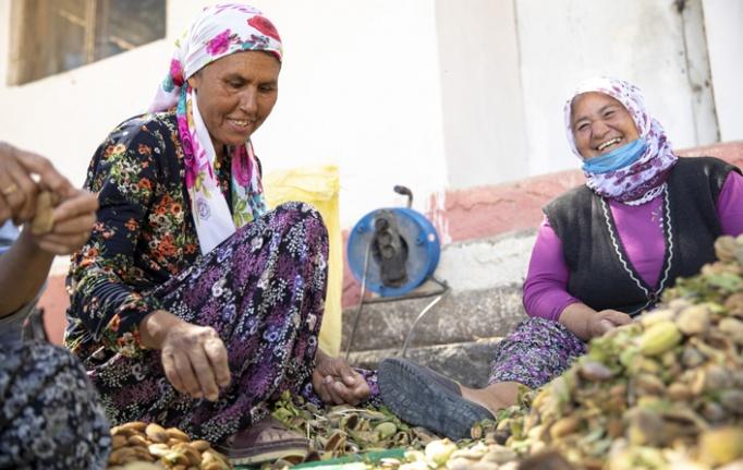 Üreticilere Badem Soyma Makinesi