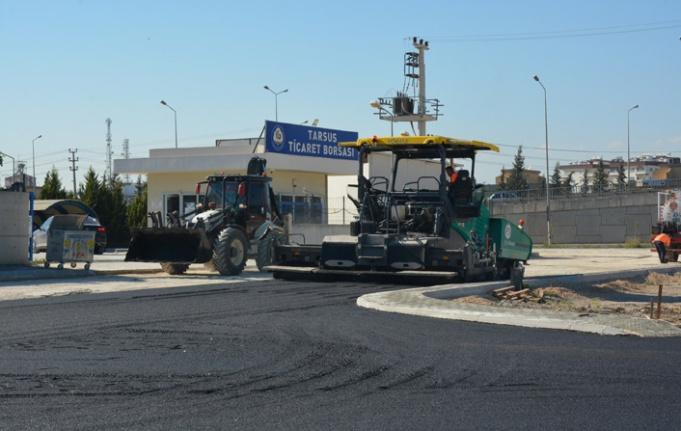 Tarsus'ta Asfalt Çalıştılar