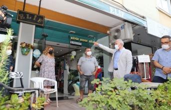 Başkanı Gültak, Çamlıbel'i ziyaret etti