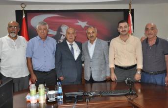 Oda Başkanlarından Emniyet Müdürü Aslan'a ziyaret
