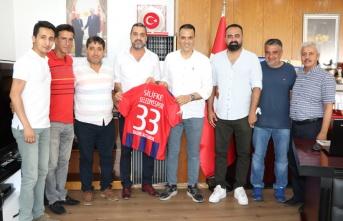 Silifke Belediye Spor'dan Altunok'a ziyaret