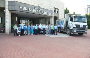 Yenişehir Belediyesinden Sinop'a yardım eli