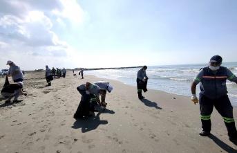 Adanalıoğlu Sahili Temizlendi