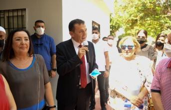 Aşevi'nde vatandaşlara aşure ikramı