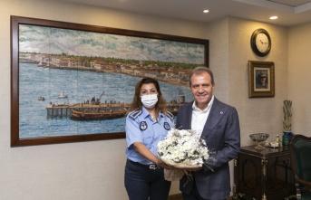 Başkan Seçer'e Büyükşehir Zabıtasından Ziyaret
