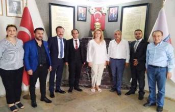 Türkiye Değişim Partisinden Başkan Sarı'ya Ziyaret