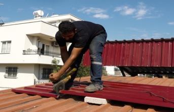 Yenişehir'den Semt Pazarlarında Bakım ve Onarım Çalışması