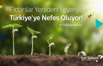 Türk Telekom'dan 100 bin fidan
