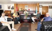 Venezuelalı sanatçıdan Altunok'a ziyaret