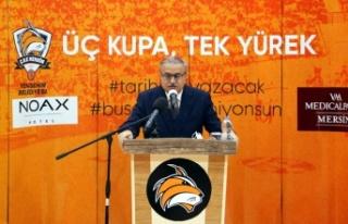 MERSİN, '3 KUPA' İÇİN 'TEK YÜREK'...