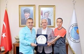 TÜFAD Şube Başkanı Bilir'den Başkan Gültak'a...