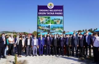 """""""Cumhurbaşkanı Ersin Tatar'ı Kadın Mehteranlar..."""