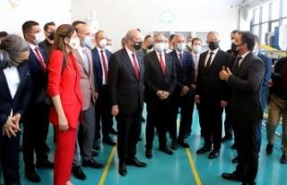 Ersin Tatar'dan MTOSB'ye ziyaret