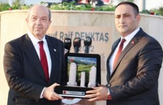 Toroslar, KKTC Cumhurbaşkanı Tatar'ı Ağırladı