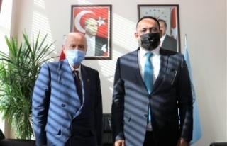 Başkan Yılmaz MHP Lİderi Bahçeli İle Bir araya...