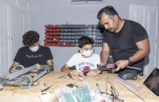 Büyükşehir'de Çocuk ve Kadın Teknoloji Atölyeleri