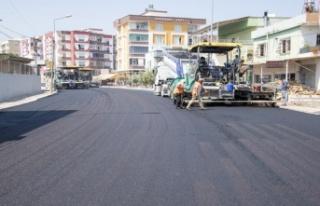 Çiftçiler Caddesinde Yol Düzenleme Çalışmaları...
