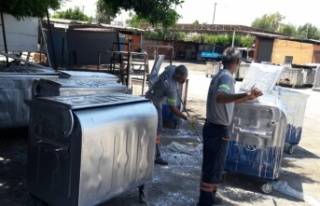 Çöp Konteynerları Yenileniyor