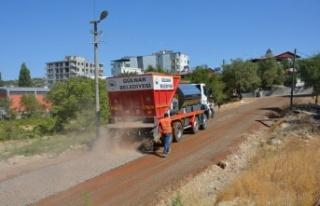 Gülnar Belediyesi Asfalt Çalışmalarına Hızla...