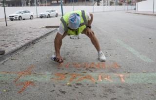 'Tarsus Yarı Maratonu'na Hazırlanıyor