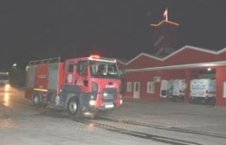 Tunceli'deki Yangına Gittiler
