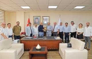 Türkiye Gazeteciler Federasyonu'ndan Başkan Gültak'a...