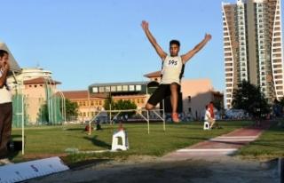 U16 Atletizm Şampiyonası Sona Erdi