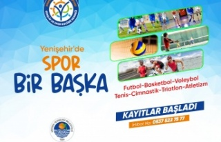 Yenişehir de spor kurslarına kayıtlar devam ediyor