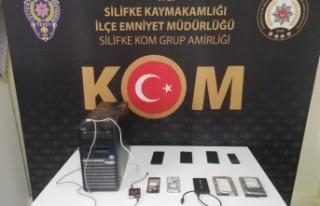 Kaçak Cep Telefonu Ele Geçirildi