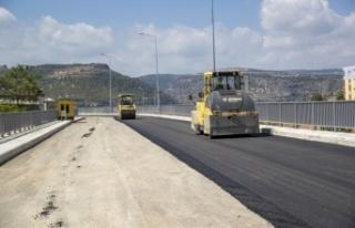 Lamos Köprüsü'nde Son Dokunuşları Yapıyor