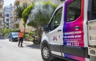 Mersin'de haşere ile etkin mücadele