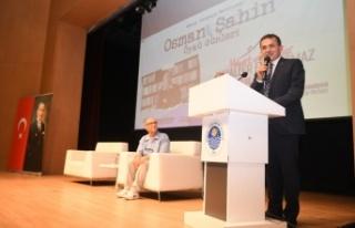 Osman Şahin  ödül töreni sona erdi