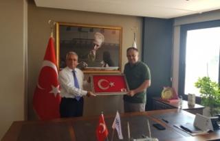 TEMAD Mersin il başkanlığının MERYAD'a ziyareti