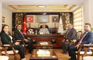 Başkan Atsız'dan Kondi ve Danacı'ya Ziyaret