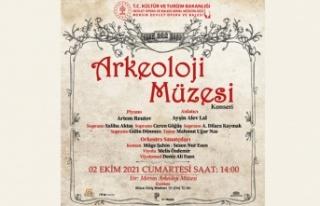 Mersin Devlet Opera ve Balesinden Müzede Konser