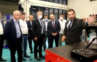 Model Fabrika ve Yenilik Merkezi'ne ziyaret