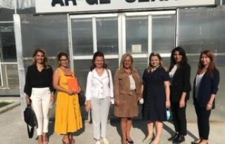 Toros Tarım, Mersin Kadın Kooperatifi'ni Ağırladı